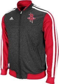 Houston Rockets Winter Court Jacket - Official Houston Rockets NBA Licensed  Merchandise 0679e6fcc