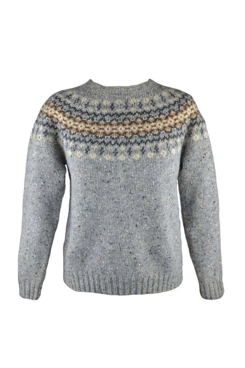 8 colours. Womens Fair isle jumper sweater Teal Red Aqua | Etsy