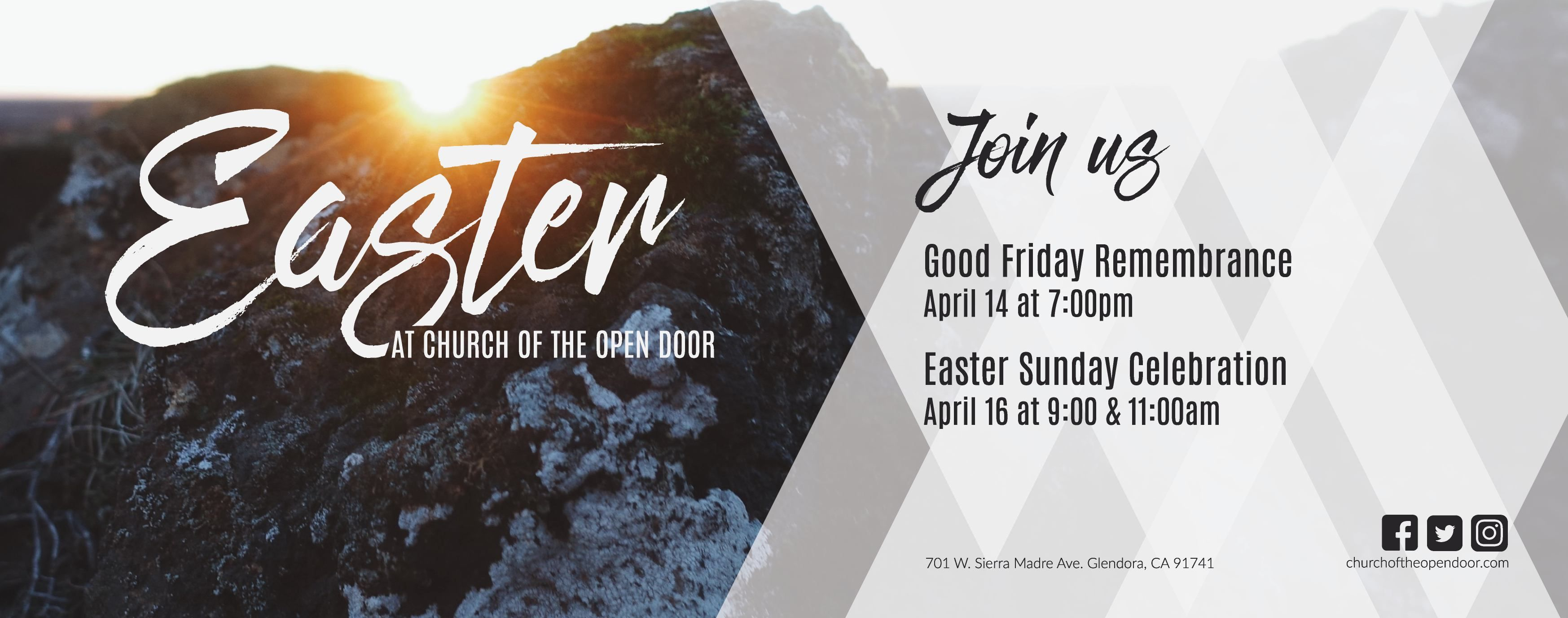 Image Result For Easter Church Invite