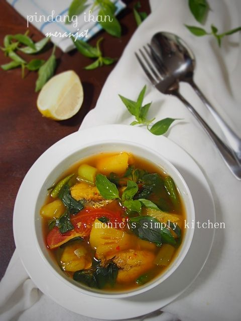 Pindang Ikan Meranjat Monic S Simply Kitchen Memasak Resep Masakan Makanan Dan Minuman