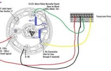 smoke detector wire diagram smoke detector wiring installation  with images  smoke detector  smoke detector wiring installation