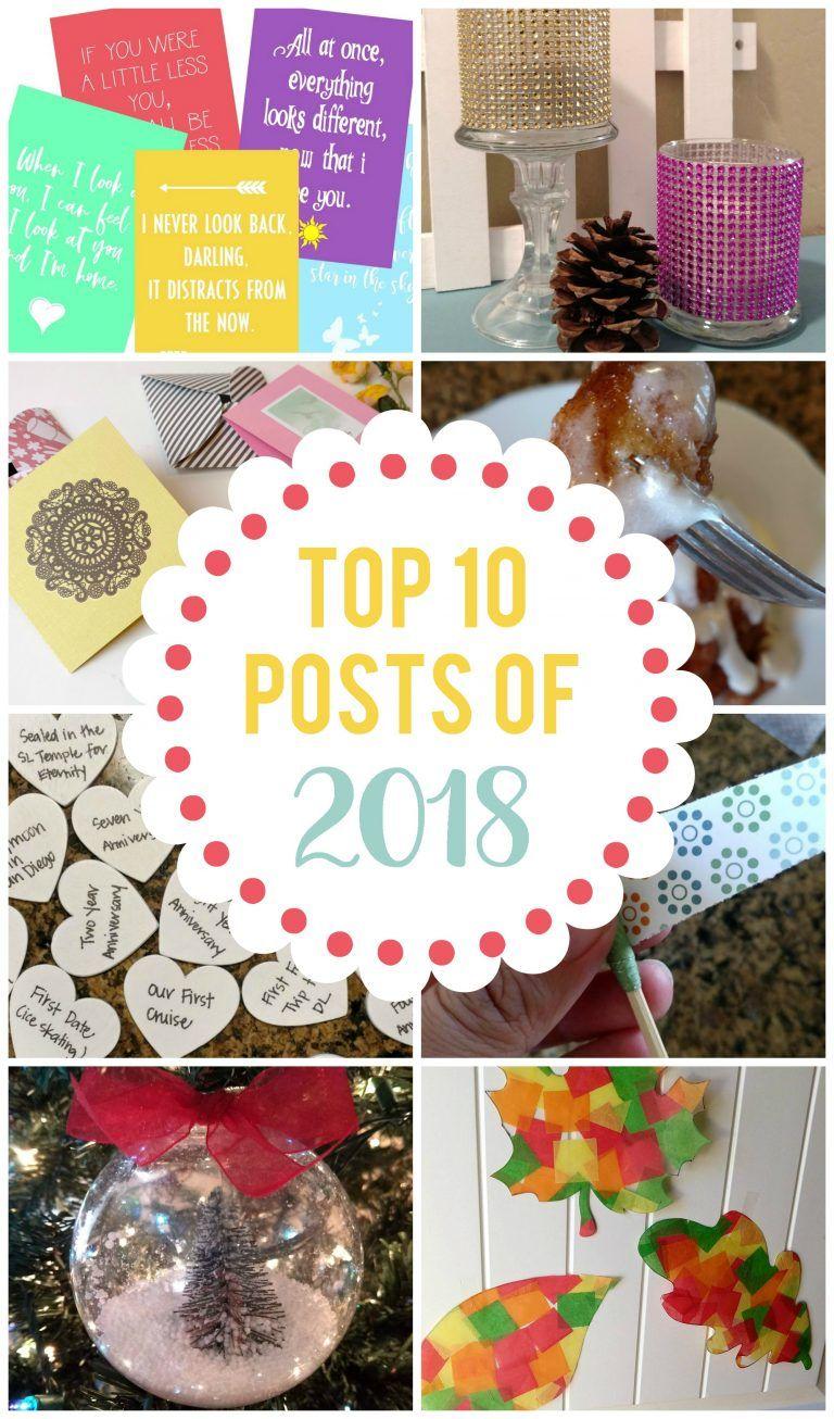 Top 10 Posts of 2018   Best of the Blog   Diy pins, Things