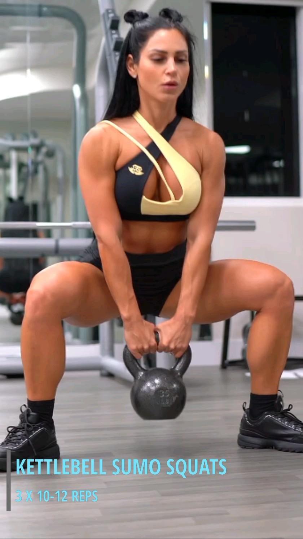 Kettlebell Sumo Squats