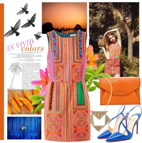 """in vivid colors"" by adrrda ❤ liked on Polyvore"