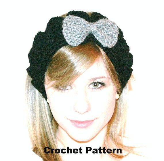 free headband ear warmer crochet pattern | PDF Crochet Pattern for ...