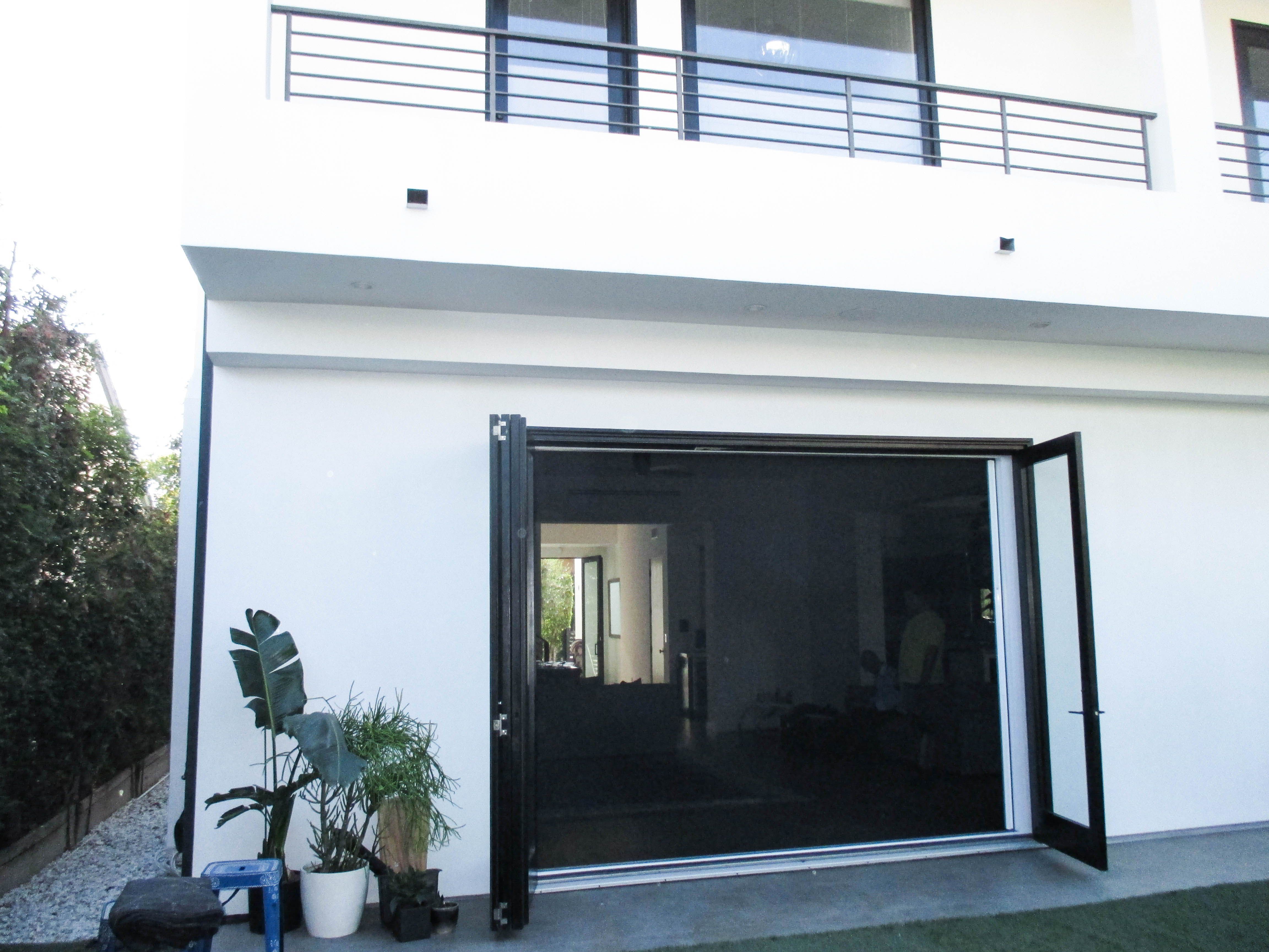 If you have a set of bi-folding doors or sliding doors with a large opening we have a Retractable Screen Door just for you. Check out this single unit ... & If you have a set of bi-folding doors or sliding doors with a large ...