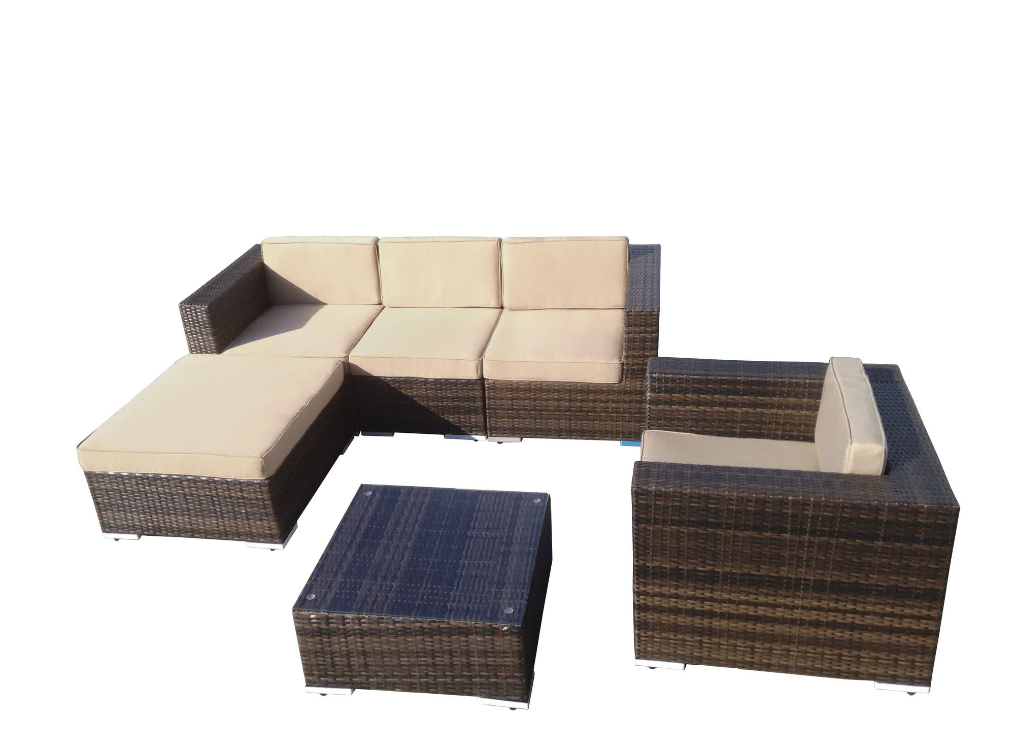 Found It At Wayfair   Aria 6 Piece Seating Group With Cushions. See More. Outdoor  Garden Furniture ...