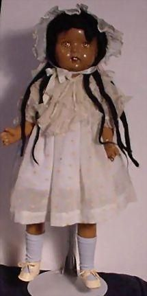 Composition Doll Of Color from mintonsdollandcuriosityshop on Ruby Lane