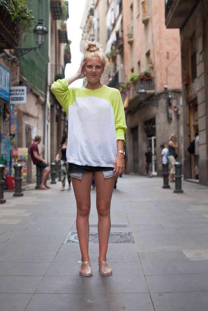 Barcelona Street Style Via Spain Street Style A World Of
