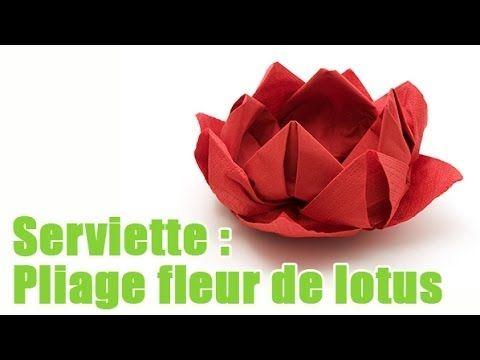 Pliage De Serviette En Papier Rose Pliage De Serviette En