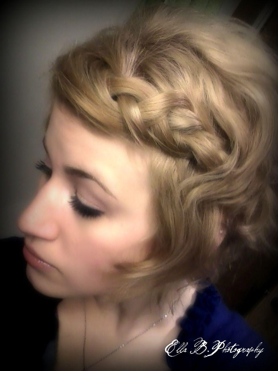 Just a funeasy hair style hair i love pinterest easy hair