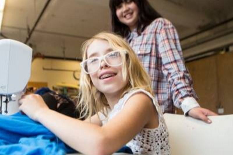 Textiles - Sewing Together #Kids #Events