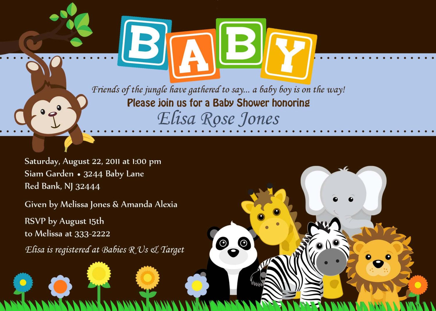 Cool Cool And Inexpensive Theme : Safari Baby Shower | FREE Baby ...