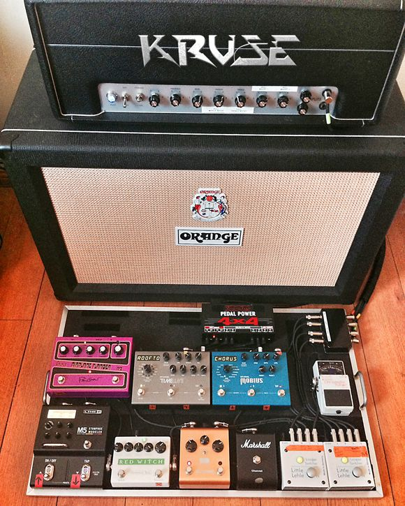 Pedalboard Feature Mest S Guitarist Mike Longworth