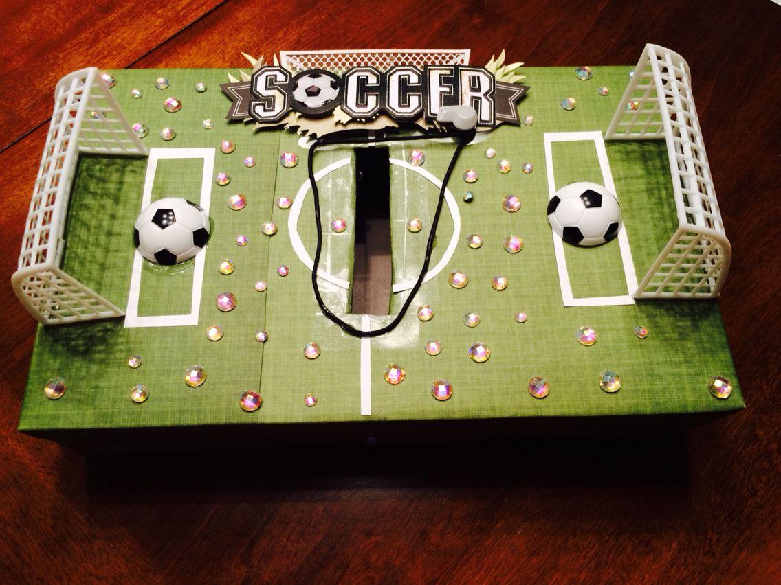 soccer valentines day box - Soccer Valentine Box