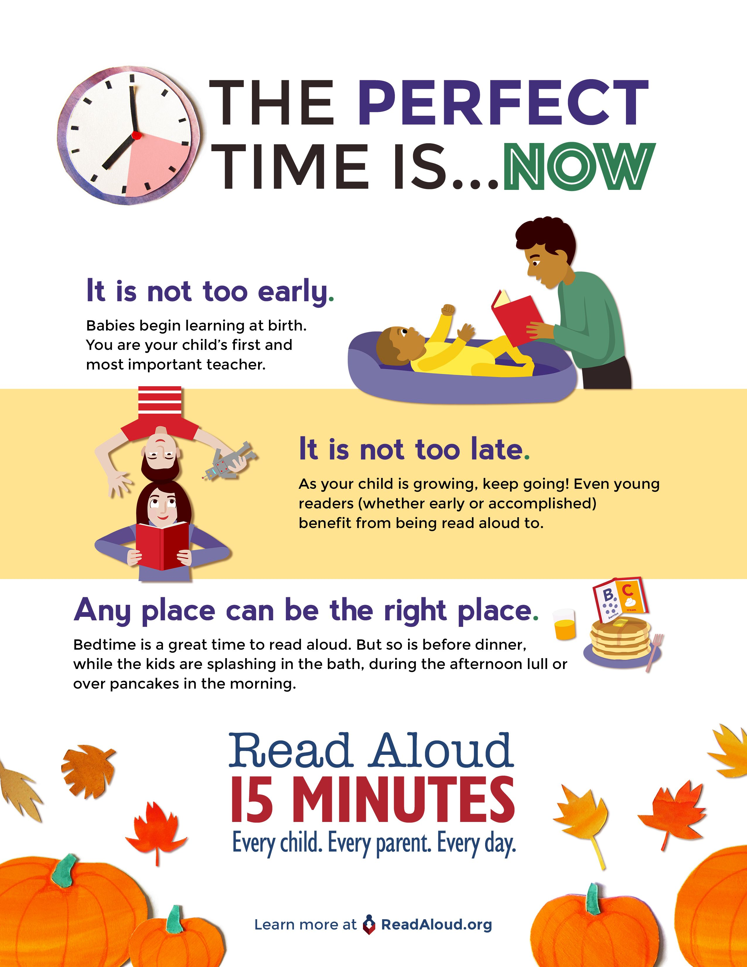 The Perfect Time Is Now To Read Aloud