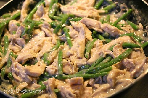 Chicken, Green Beans and Rice