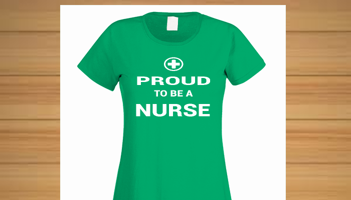 ***Limited Time Only - Ending 12 April 2015 - South Africa only!Are you, or is someone you know, a proud nurse? If so, this t-shirt is a must have!  Available in many styles, colours and sizes, including vests and hooded sweatshirts.Starting at R160! Limited Time! Order Yours Now!  Also makes a great gift!