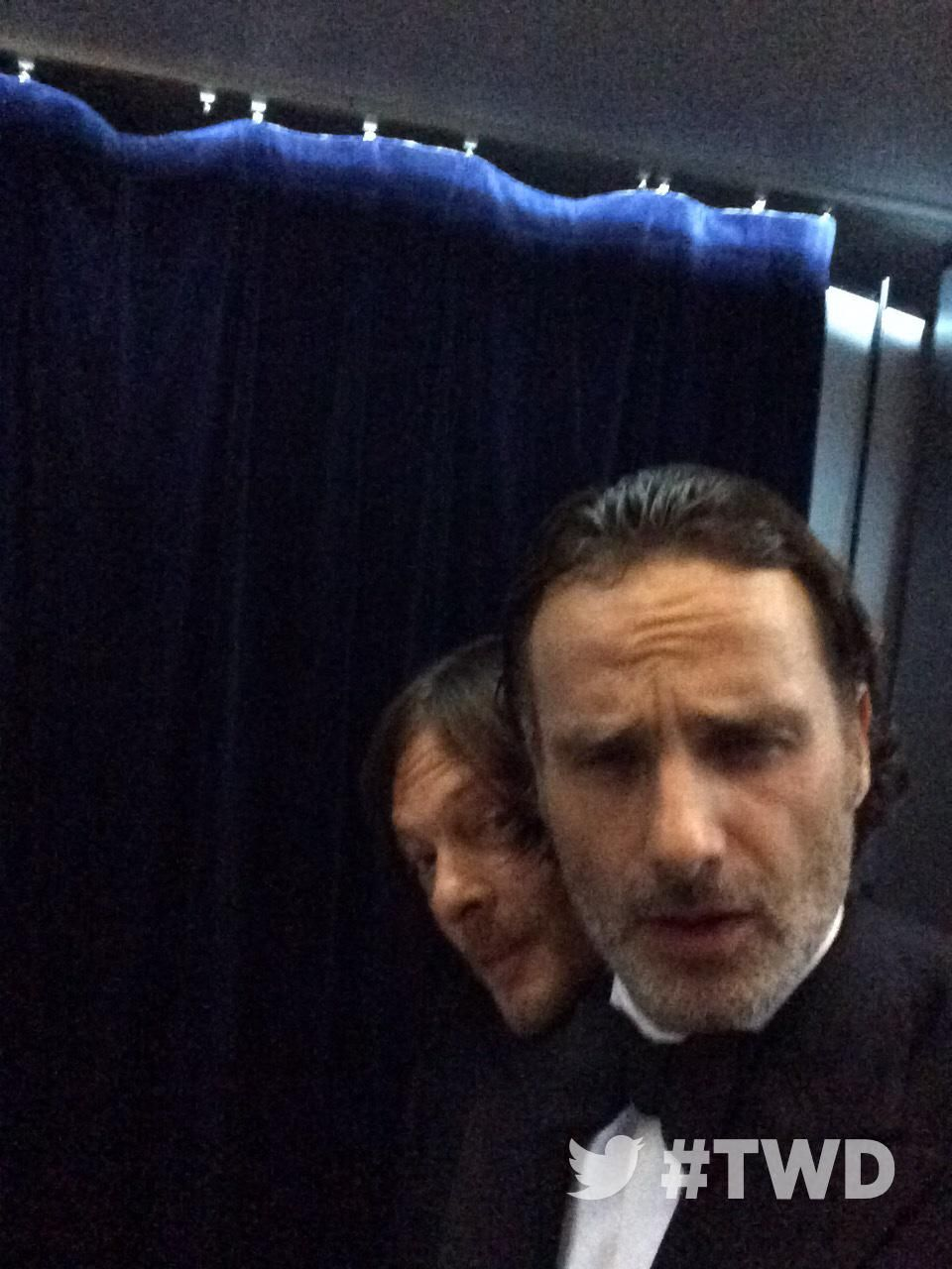 """The Walking Dead AMC on Twitter: """"Excited to be at the #TWDFanPremiere tonight! Wwwbigbaldhead http://t.co/eufPc8yNEk"""""""