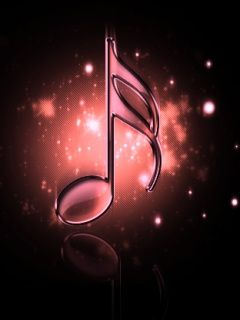 Music Note Glow Cell Phone Wallpapers Jpg 240 320 Cellphone Wallpaper Cool Wallpapers For Phones Phone Wallpaper