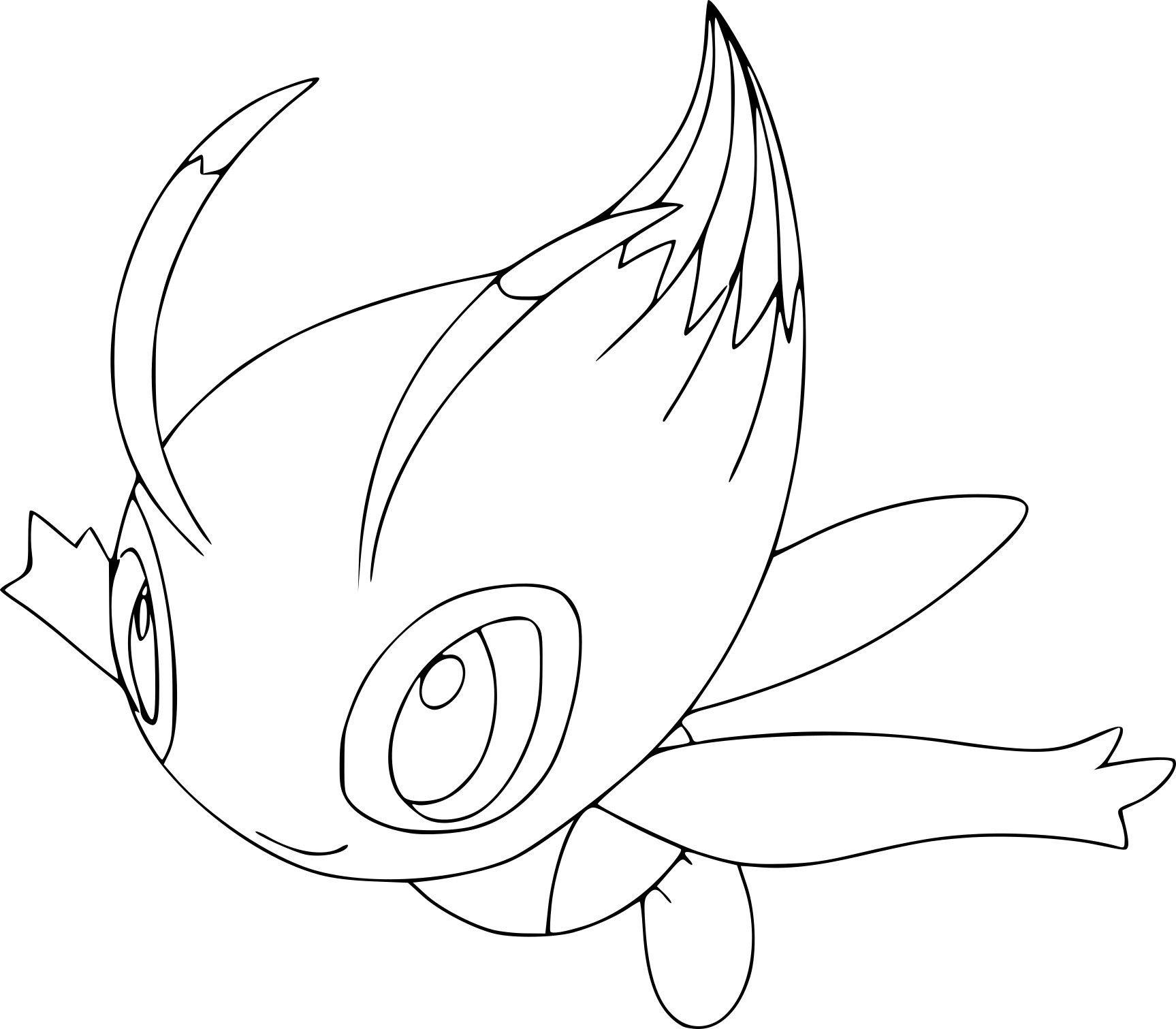 Pokemon Coloring Pages Celebi Pokemon Coloring Pages Pokemon