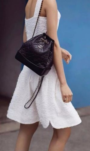 3c4e5b605cbb New-Chanel-gabrielle-backpack-with-black | Aliza like | Chanel bag ...