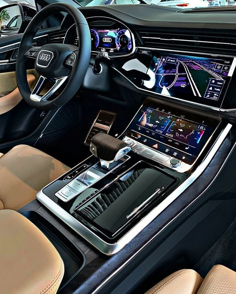 Luxury Audi Q8 Interior Rate This Interior From 1 100 Get 10 Off Audi Tuning Products By In 2020 Super Luxury Cars Luxury Cars Range Rover Luxury Car Interior