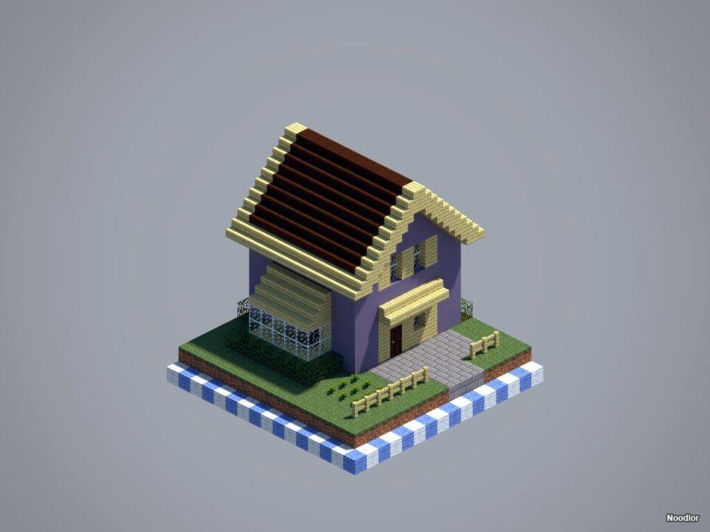 Casa Basica Moderna Y Cool Minecraft Pinterest Minecraft
