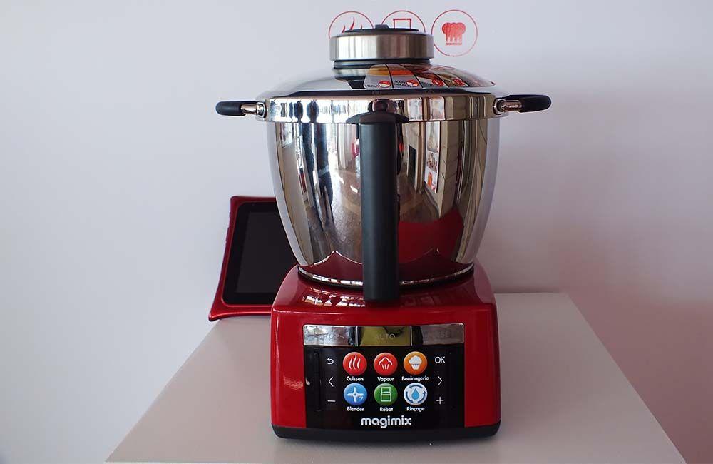 Pr sentation presse magimix cook expert le robot Robot de cuisine magimix