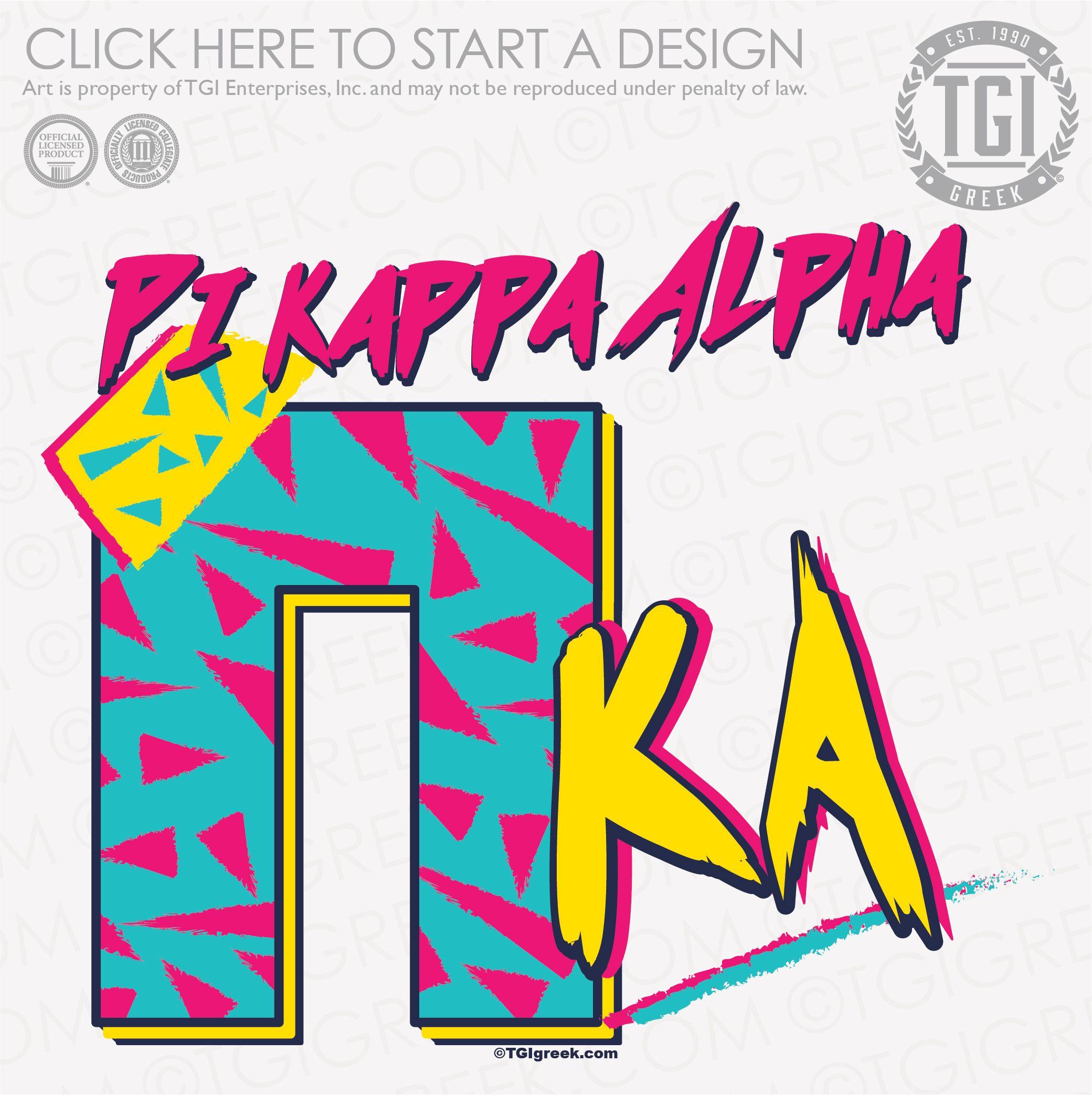 Pi Kappa Alpha Ka Pike Pr Fraternity Pr Tgi Greek Greek