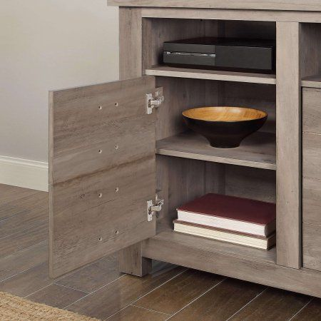 Better Homes And Gardens Granary Modern Farmhouse Printers TV Cabinet Multiple Finishes Image 4 Of