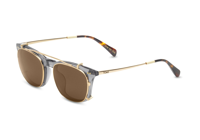 Fashion · Maxwell Grey Crystal Shiny Gold ...