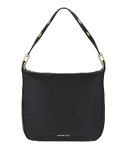02c2183026e7 MICHAEL MICHAEL KORS Raven Large Leather Shoulder Bag. #michaelmichaelkors # bags #shoulder bags #leather #