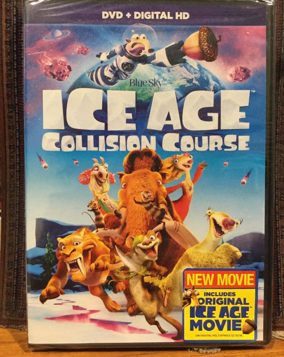 Ice Age Collision Course Dvd Ice Age Collision Course Ice Age Collision Course