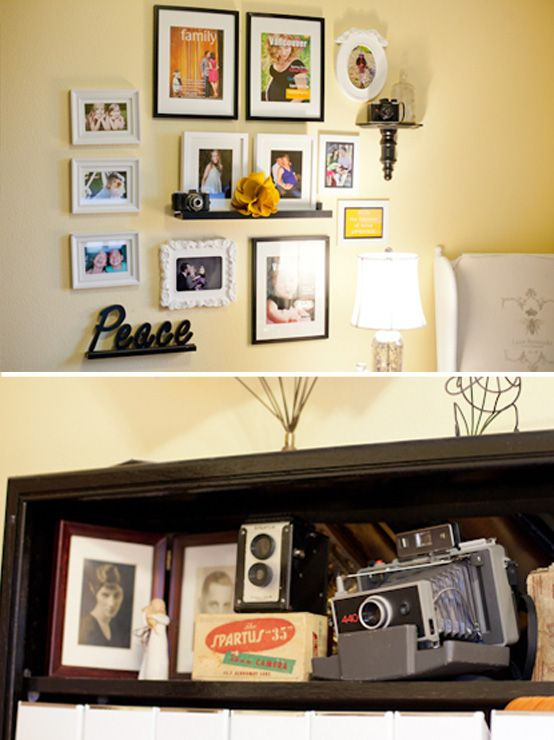 frame arrangement | For the Home | Pinterest | Picture ledge, Wall ...