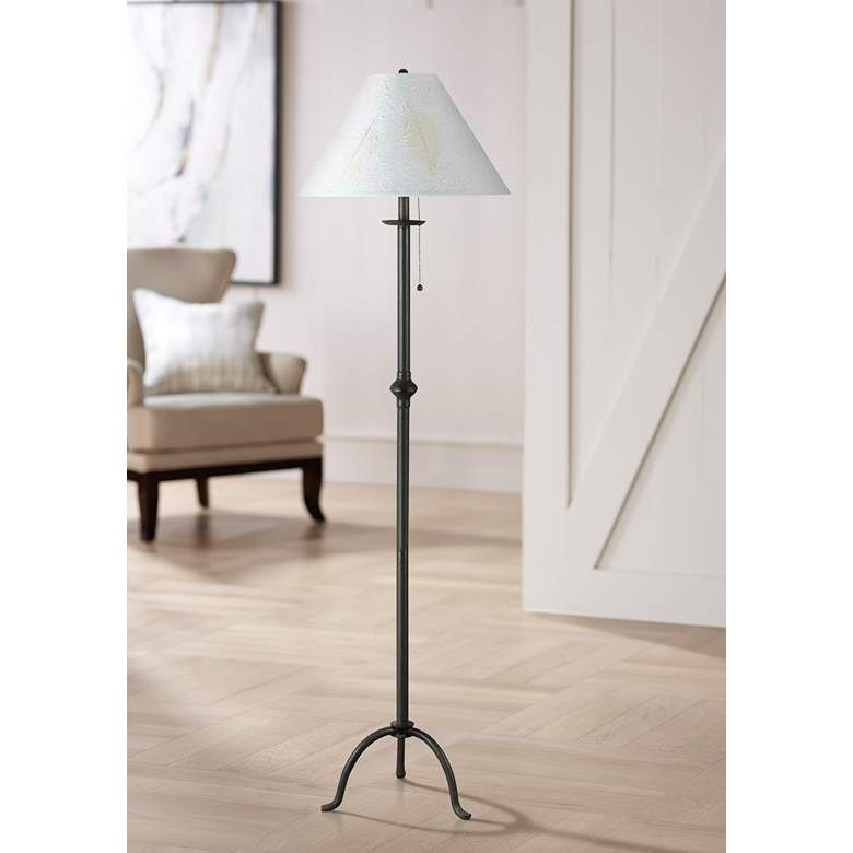 Iron Footed Floor Lamp by Cal Lighting 71506 Lamps
