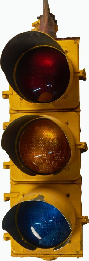 Eagle Signal Corp Hanging 3 Light Traffic Signal Traffic Signal Traffic Light Hanging