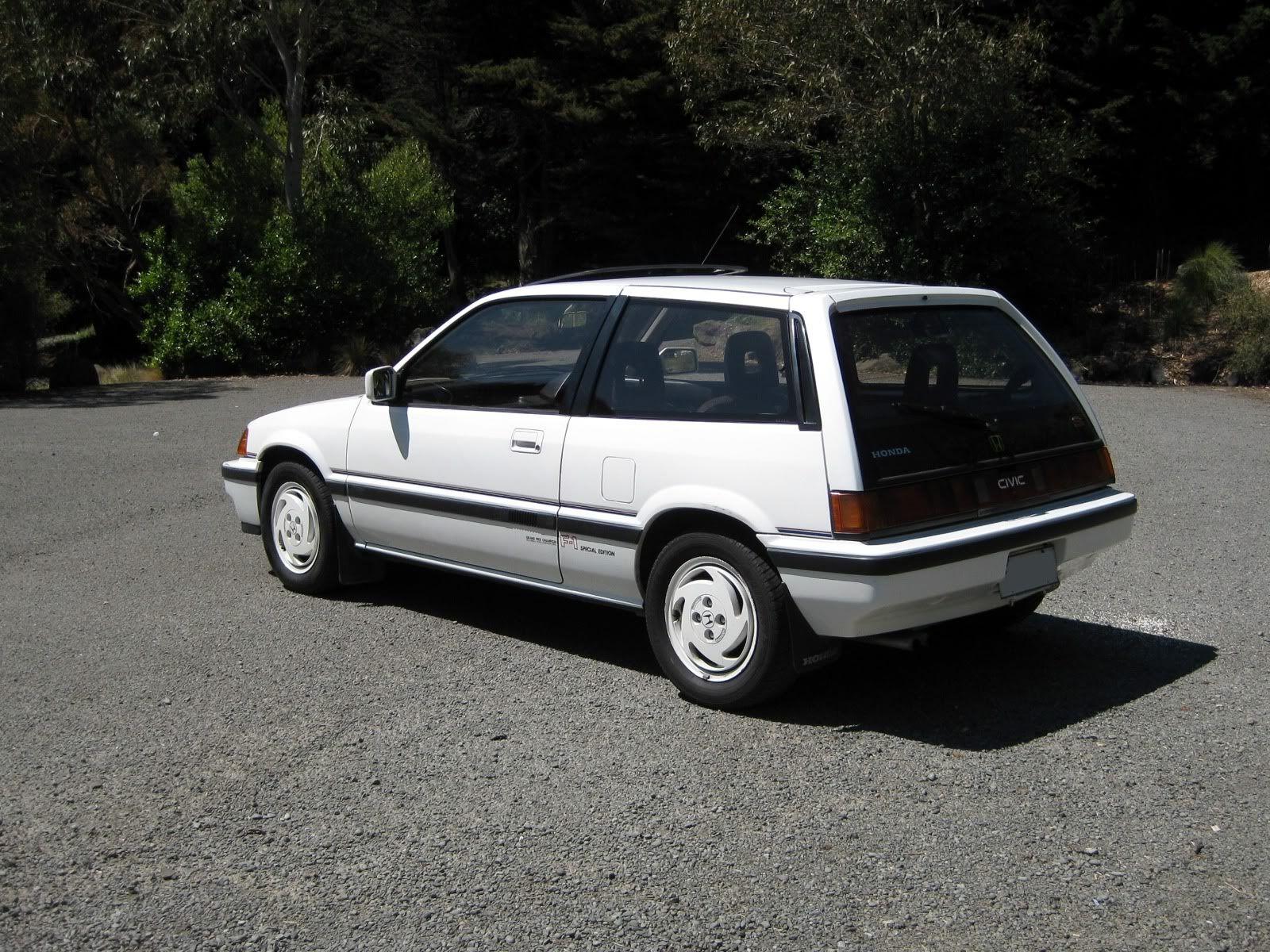 Kelebihan Honda Civic 1986 Top Model Tahun Ini