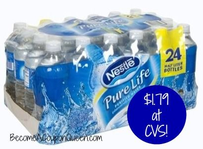 Cvs Nestle Pure Life Water 24pk Only 1 79 Pure Life Water Nestle Pure Life Water Nestle Pure Life