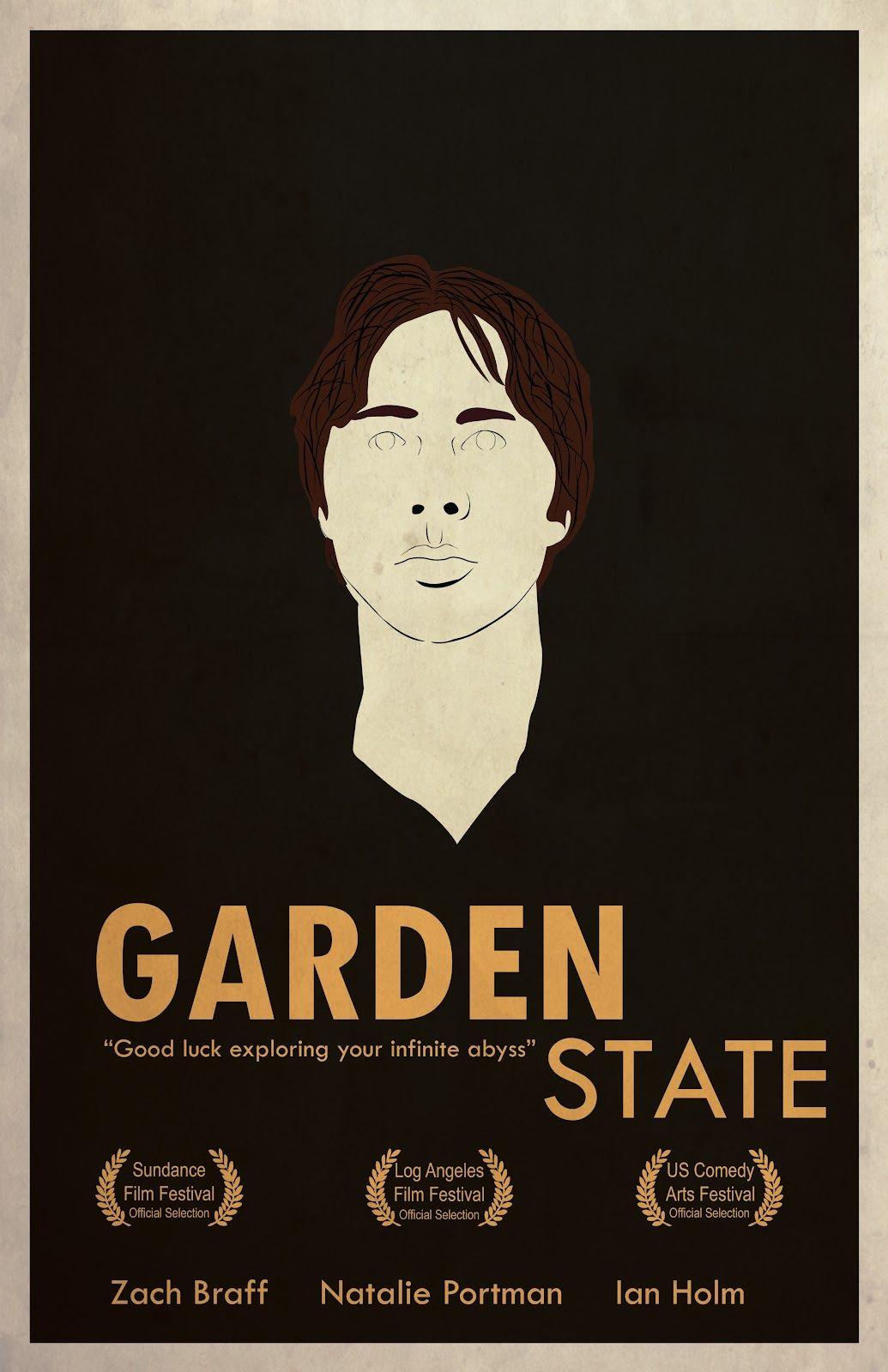 Garden State movie poster print