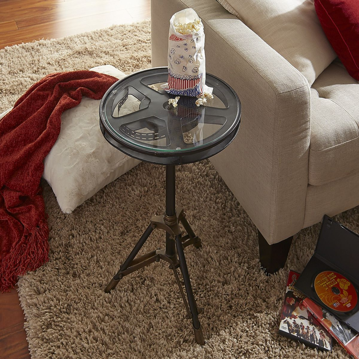 Beau Movie Reel Accent Table