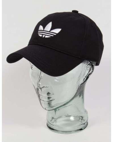 Adidas Originals Trefoil logo cap - Black adidas 6S1YNp8w