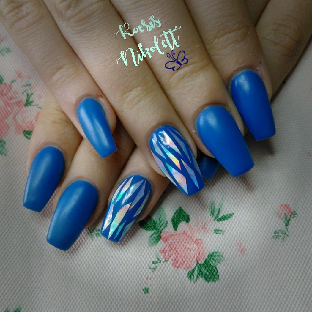 Nail Art Video Download Mp4: Blue Nails