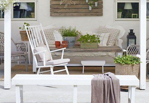 Nytt og gjenbruk Home Inspiration for the new house Pinterest - Terrace Design
