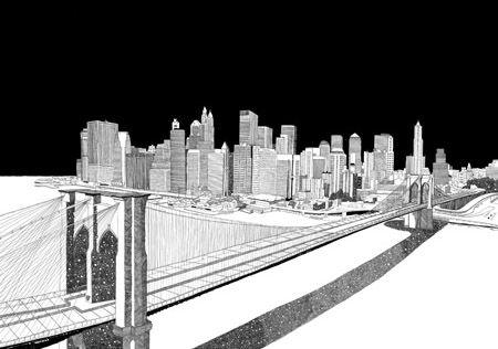 Chris Dent, ilustrador urbano.