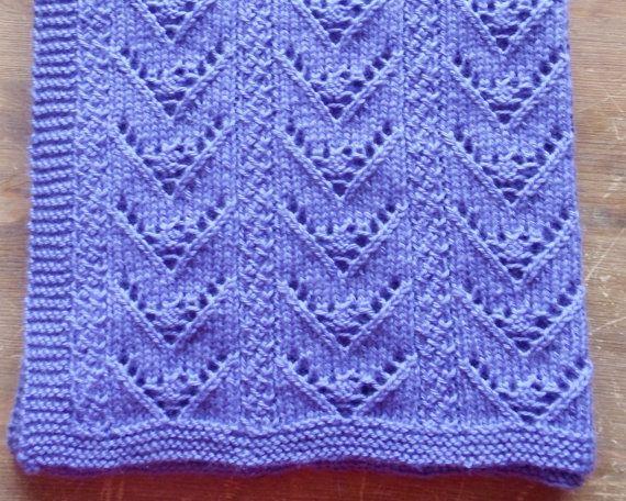 Aran Baby Blanket Knitting Pattern Instant Download Pdf Blodwen Lap
