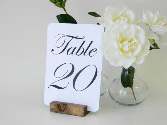 table number holder rustic wedding wood table number holders wedding place card