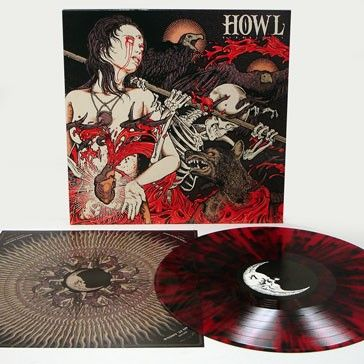 Howl - Bloodlines. First Press: 700 x Black Standard Gram, 300 x Red and Black, 100 x Clear. $17.99