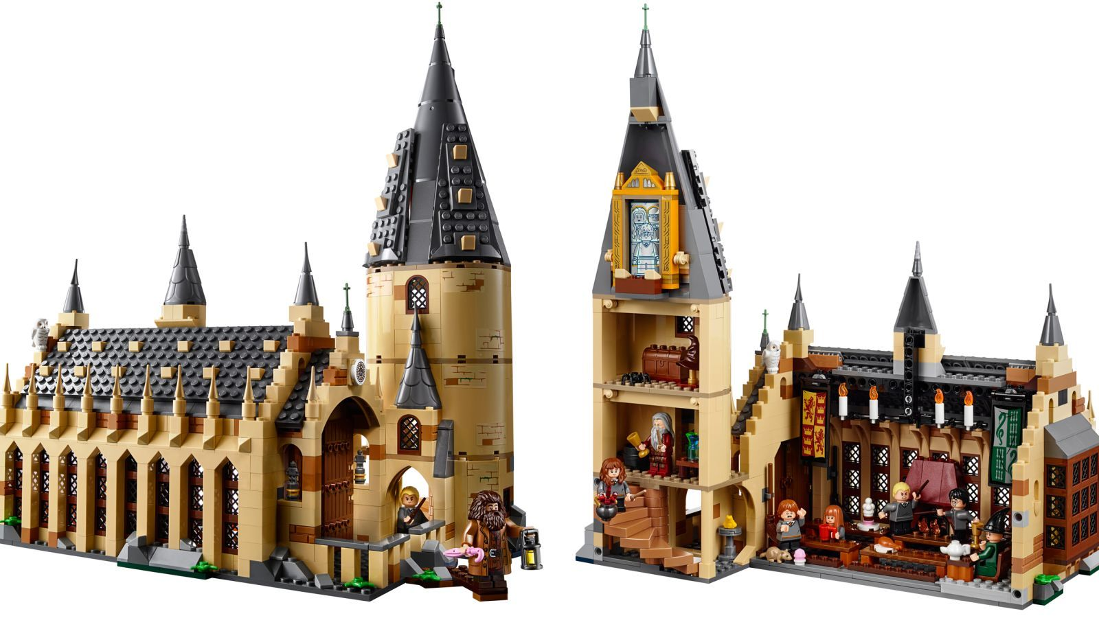Lego S New Hogwarts Great Hall Set Is Going To Magically Drain My Wallet Harry Potter Lego Sets Lego Harry Potter Best Lego Sets