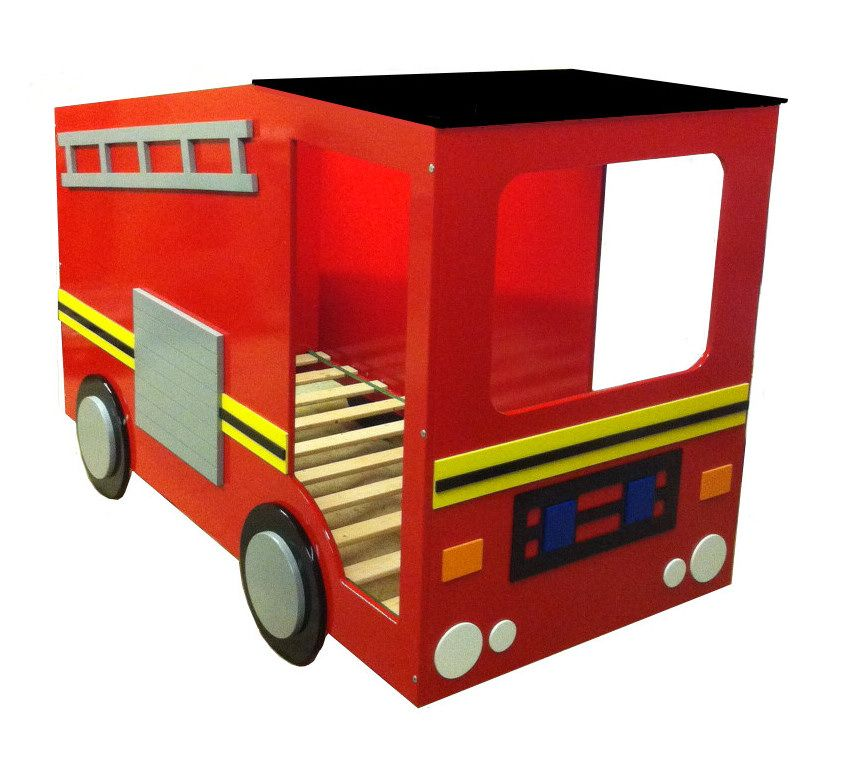 Boys Red Fire Engine Bed | Kids Themed Beds | Fire Engine Novelty